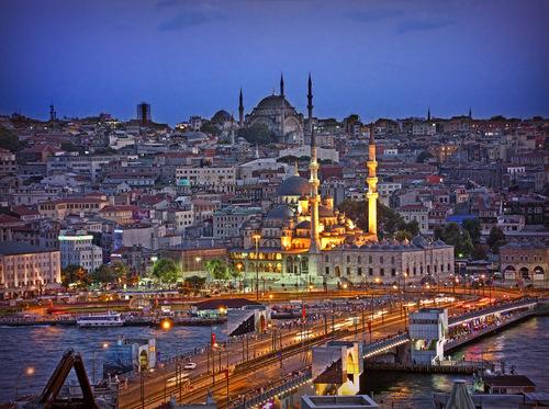 Istanbul in Turchia.