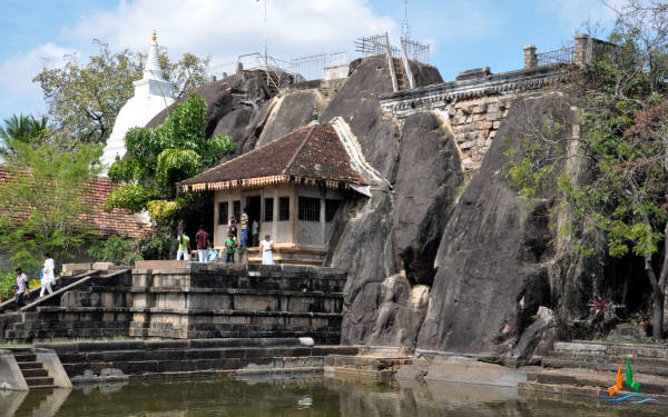 Sri Lanka, il tempio di Isurumuniya dove Budda ha raggiunto il Nirvana.