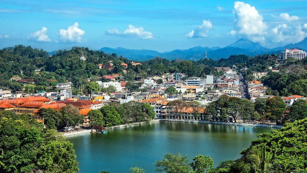 Kandy in Sri Lanka.
