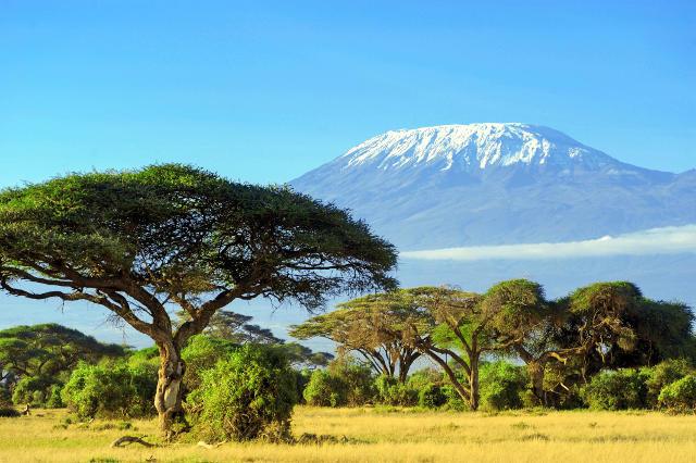 Il Kilimangiaro in Tanzania.