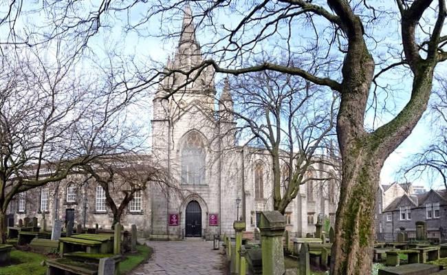 La Chiesa di San Nicola è una delle più antiche di Aberdeen.