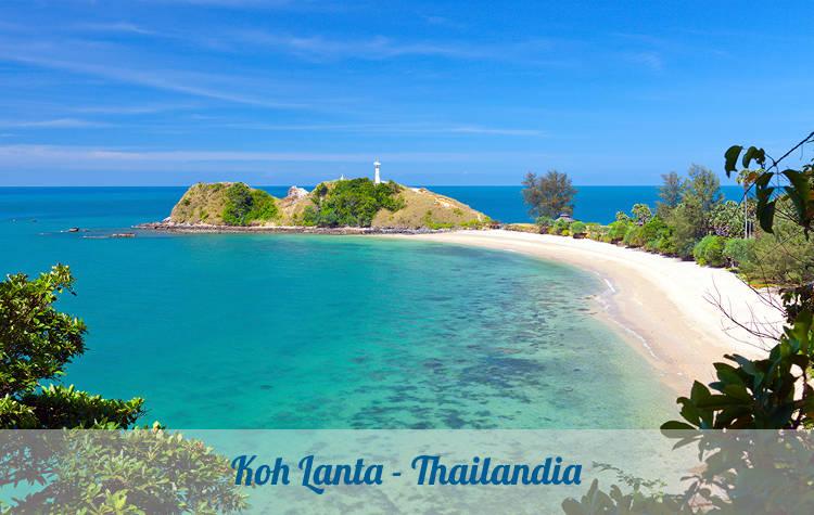 Koh Lanta vicino Krabi, destinazione turistica tailandese.