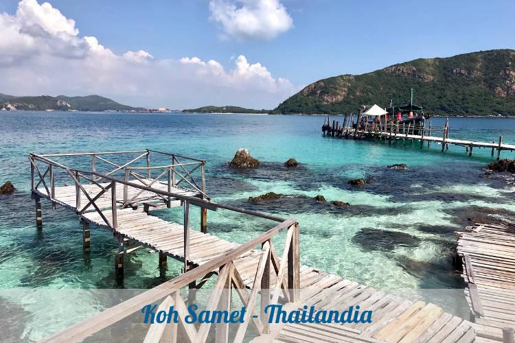 Il meraviglioso mare tailandese nel sud est asiatico.