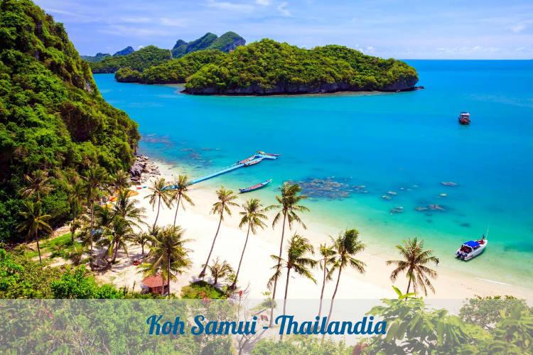 Koh Samui in Thailandia.