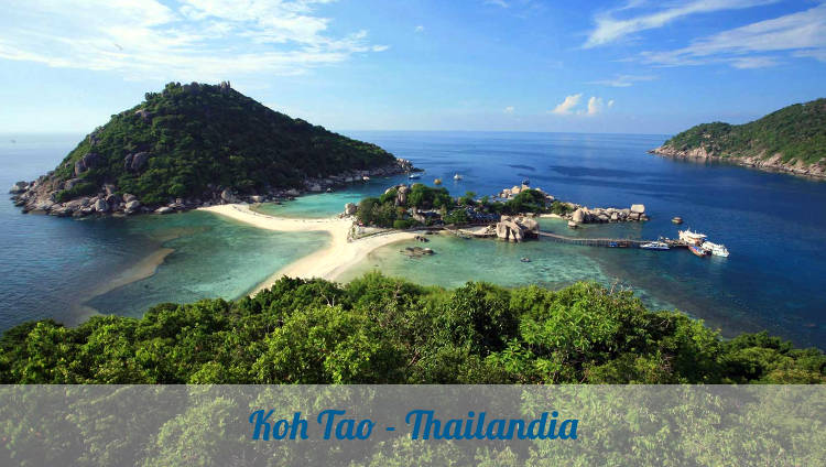 Isola di Koh Tao in Thailandia.