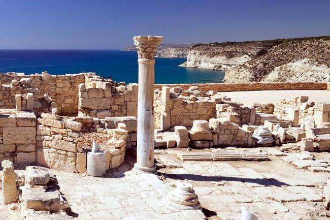 Il sito archeologico di Kourion vicino Limassol.
