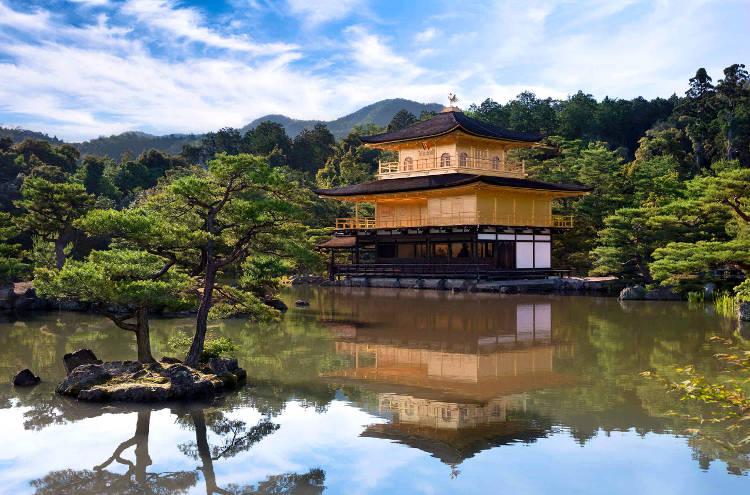 Tempio tradizionale a Kyoto in Giappone.