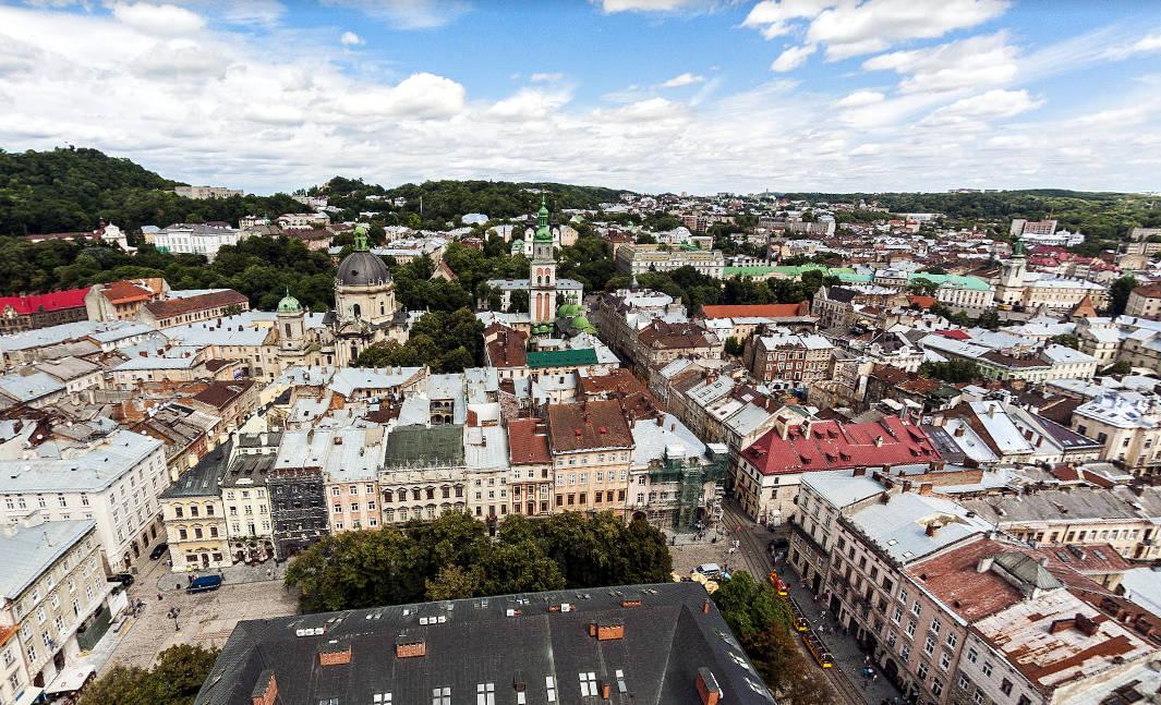 Bellissimi monumenti da vedere a Lviv.