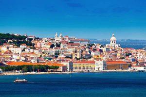 Lisbona in Portogallo.
