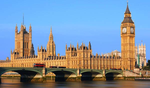 Il big Ben a Londra.