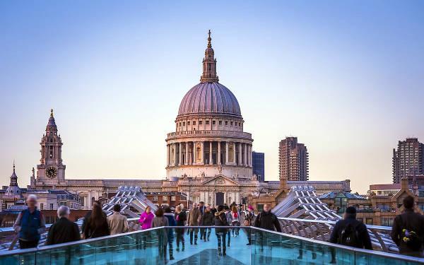 La Cattedrale di Saint Paul è una delle più grandi e famose cattedrali nel mondo.