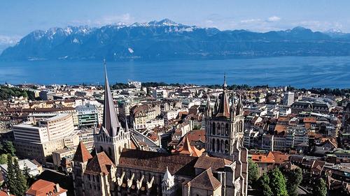Losanna in Svizzera.
