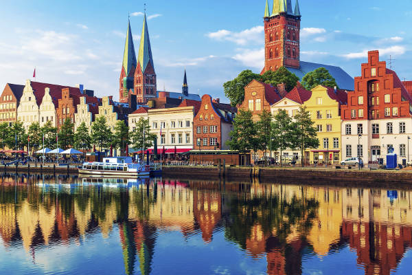 Lubecca, una particolare e bellissima città della Germania.