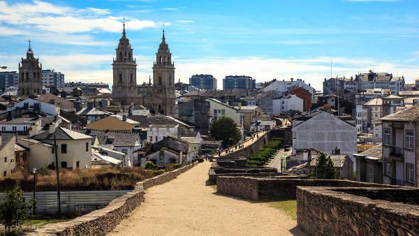 Lugo in Spagna.