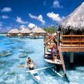 Luna di miele alle Bahamas.