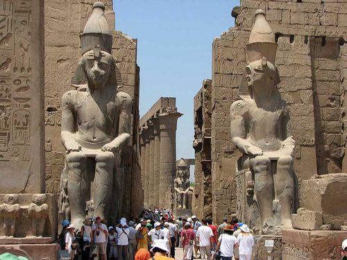 Luxor in Egitto.