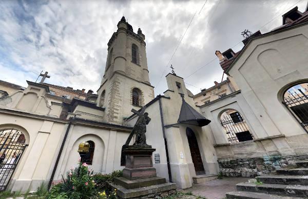 La cattedrale armena di Leopoli.