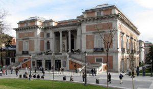 Museo del Prado a Madrid.