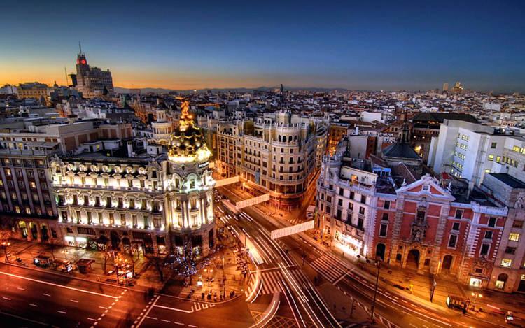 Visitare Madrid la capitale della Spagna.