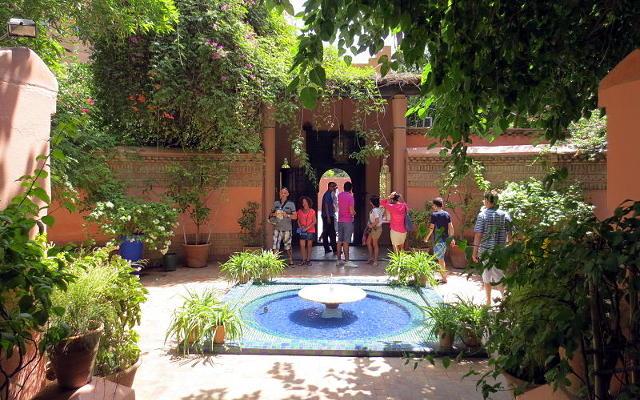 Marrakech, i giardini di Majorelle.