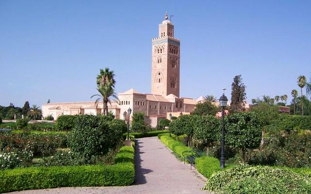 La moschea Koutoubia a Marrakech.