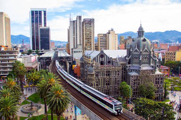 Medellin in Colombia.