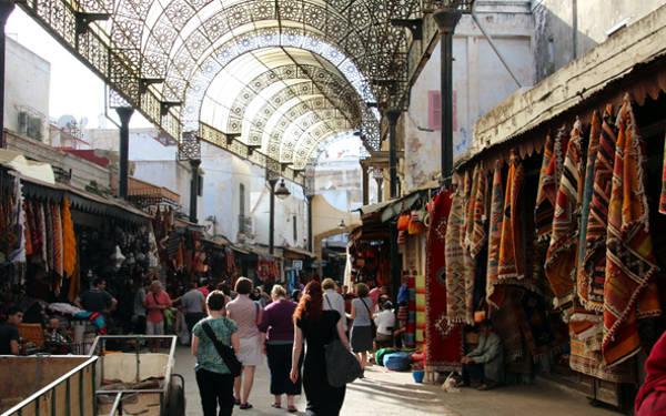 Mercato nella medina di Rabat.