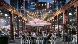 Melbourne, il mercato più antico della città.