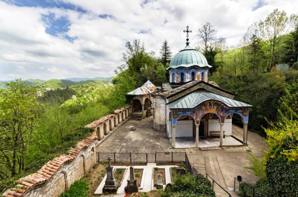 Il monastero di Sokolski in Bulgaria.
