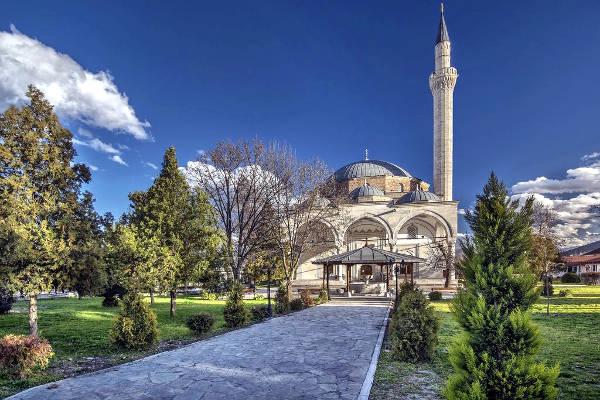 La moschea di Mustafà Pascià, un luogo da vedere  a Skopje.