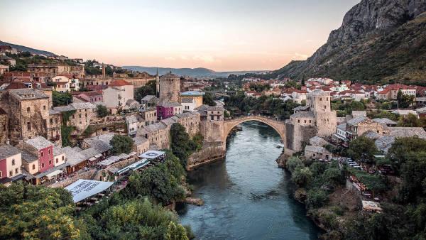 Mostar in Bosnia Erzegovina.
