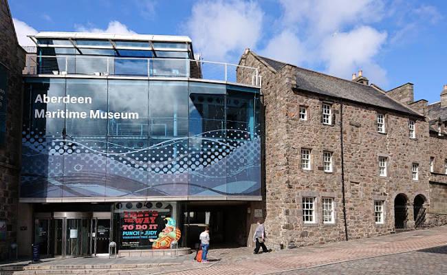 Il Museo Marittimo di Aberdeen è uno dei luoghi da vedere durante un viaggio nella città scozzese.
