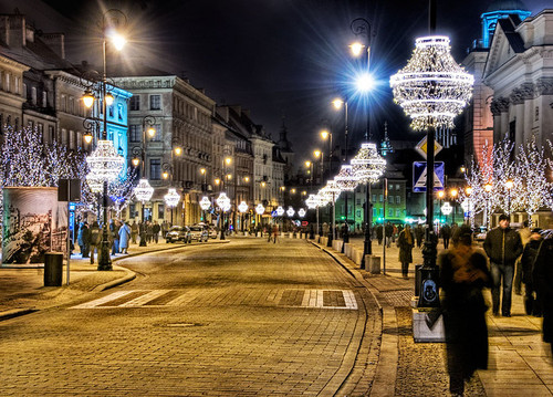 Natale a Cracovia, in Polonia