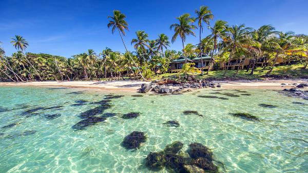 Spiaggia tropicale del Nicaragua in America Centrale.