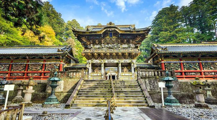 Il santuario Toshogu a Nikko, uno dei più belli del Giappone.