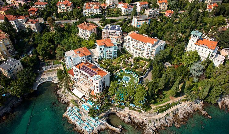 Abbazia, Opatija in Croazia.