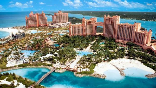 Paradise Island alle Bahamas.