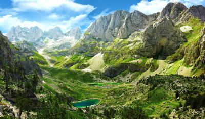 Il parco nazionale di Llogara.