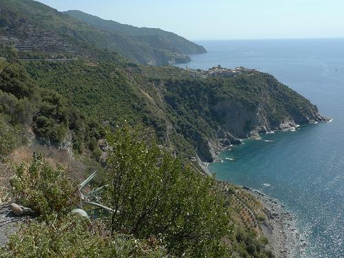 Parco Nazionale delle Cinque Terre in Liguria