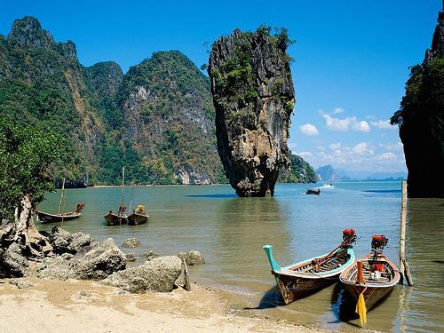 Phuket, baia di Phang Nga, Thailandia