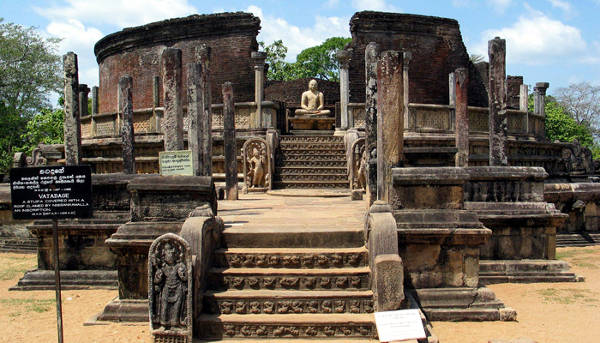 Polonnaruwa in Sri Lanka.