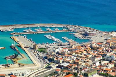 Porto Torres nel nord della Sardegna.