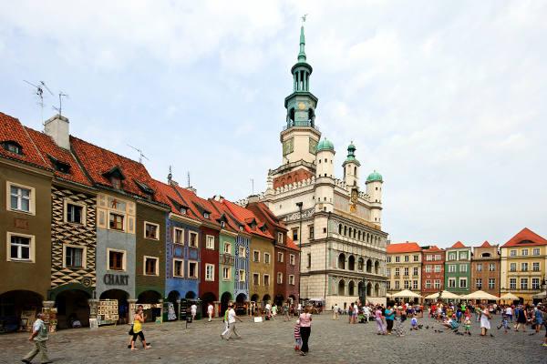 Poznan in Polonia.