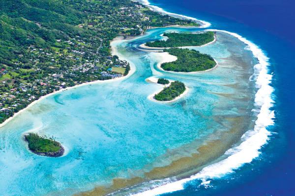 Rarotonga, Isole Cook.