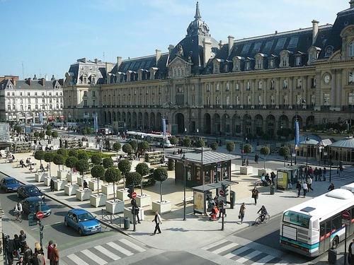 Rennes, capitale della Bretagna in Francia.