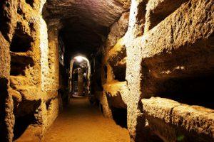 Le catacombe romane.