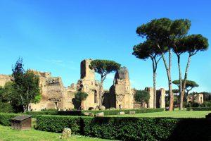 Le Terme di Caracalla a Roma.