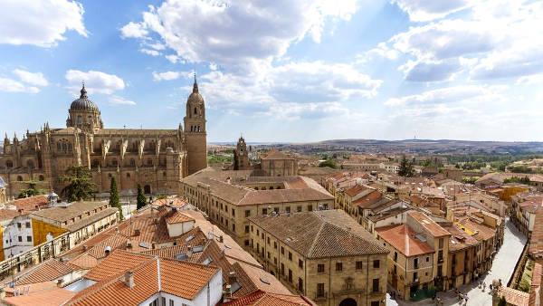 Salamanca in Spagna.