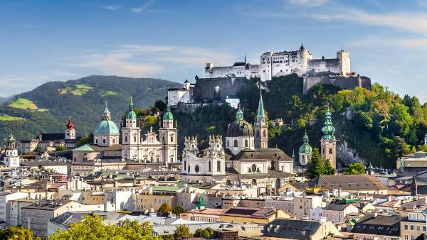 Salisburgo in Austria.