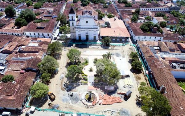 Santa Fe de Antioquia in colombia.